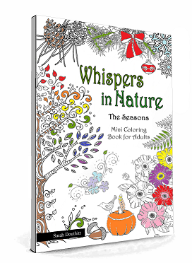Mini Coloring Book for Adults