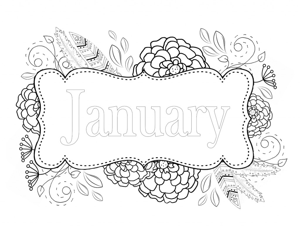 Coloring pages for january - We Have More Free Coloring Pages And A Color Wheel Here Http Whispersinnature Com Blog Free Adult Coloring Pages